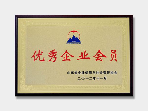 山东省企业信用与社会责任协会**企业会员