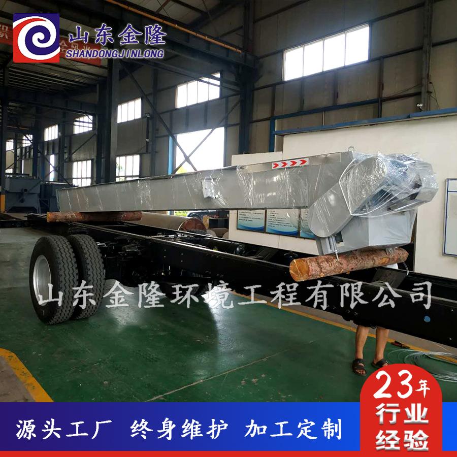 JL600-4800回转式格栅除污机发货