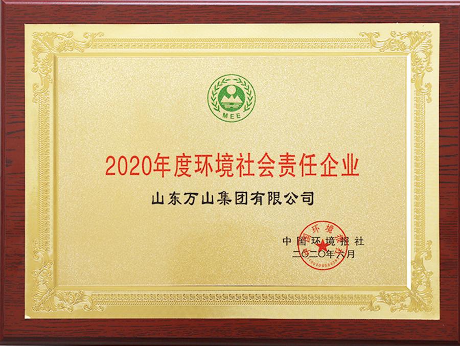 2020年度环境社会责任企业