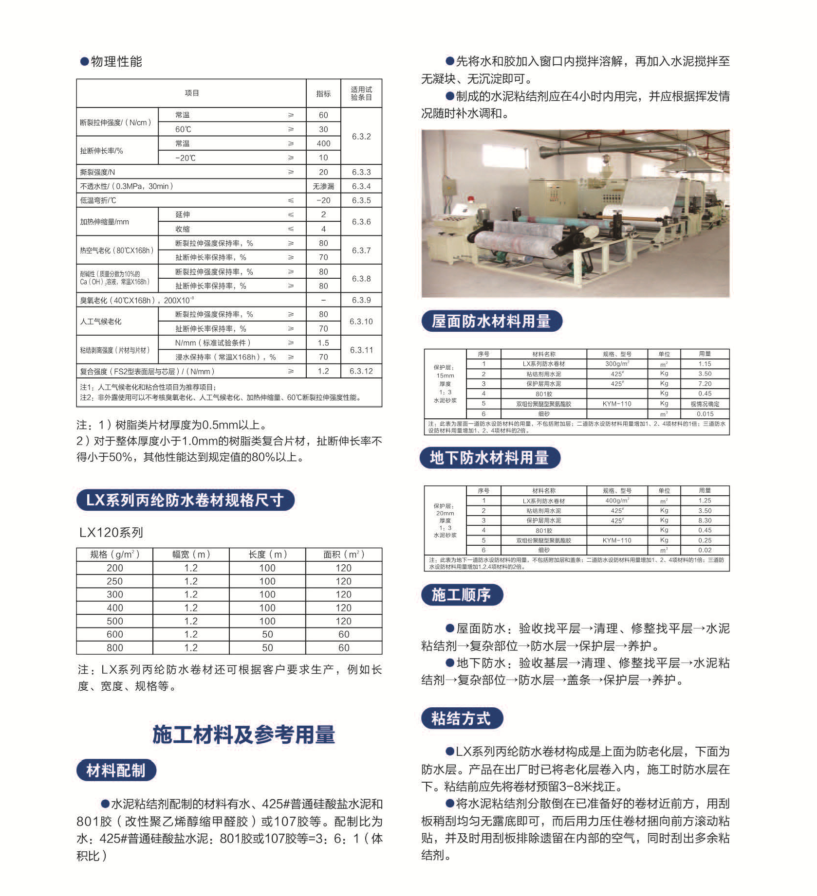 LX聚乙烯丙(涤)纶高分子防水卷材 (3)